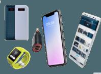 دانلود عکس با کیفیت png گوش های موبایل و ساعت هوشمند