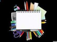 دانلود وکتور مداد رنگی و دفترچه