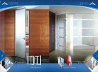 دانلود طرح لایه باز کاتالوگ تبلیغاتی درب و پنجره دوجداره upvc