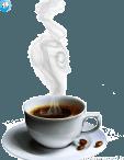 عکس png قهوه و فنجان
