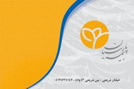 دانلود کارت ویزیت لایه باز بیمه پارسیان