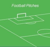 قالب پاورپوینتی زمین فوتبال