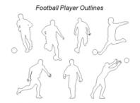 قالب پاورپوینتی شکل های فوتبال