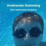 قالب پاورپوینتی ورزشی شنا