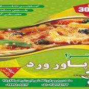 دانلود طرح تراکت پیتزا و فست فود psd