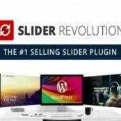 افزونه فارسی روولوشن اسلایدر- Slider Revolution همراه با افزودنی ها