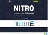 قالب فروشگاهی نیترو - قالب nitro