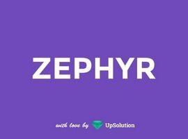 قالب زفایر zephyr نسخه اصلی فارسی