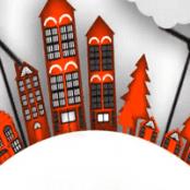 آموزش حرکت دادن یک شهر وکتوری در افتر افکت Animating a Vector