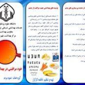 بروشور بهداشت چشم