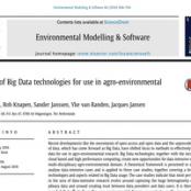 مقاله Environmental Modelling & Software