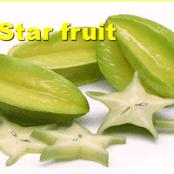 پاورپوینت میوه فروت ( Star fruit )