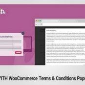 افزونه فارسی شرایط و ضوابط ووکامرس- WooCommerce Terms & Conditions Popup Premium