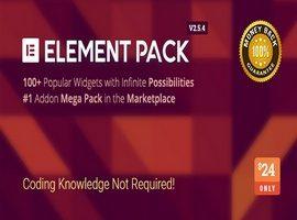 افزونه المنت پک نسخه فارسی  – Element Pack Addon for Elementor