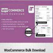 افزونه فارسی دانلود گروهی فایل ها در ووکامرس-WooCommerce Bulk Download