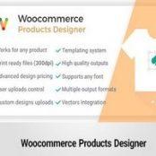 افزونه فارسی طراحی سفارشی محصولات ووکامرس – Woocommerce Products Designer
