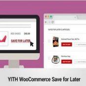 افزونه فارسی ذخیره محصولات در لیست خرید برای بعد ووکامرس- Save for Later Premium