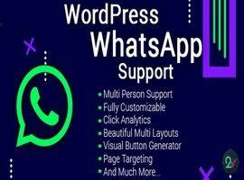 افزونه پشتیبانی با واتس آپ در وردپرس نسخه فارسی – WhatsApp Support