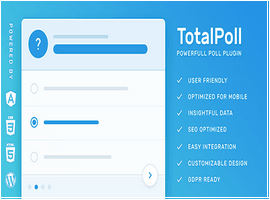افزونه فارسی نظرسنجی TotalPoll Pro