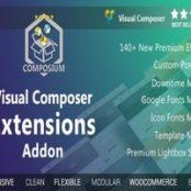 افزونه مجموعه کامل افزونه ویژوال کامپوزر-Visual Composer Extensions Addon