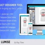 اسکریپت Lumise Product Designer Tool – PHP Version