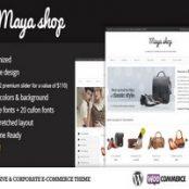 قالب MayaShop – پوسته چند منظوره فروشگاه اینترنتی