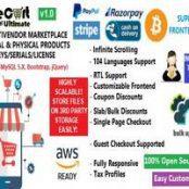 اسکریپت فروشگاه ساز محصولات MulteCart Ultimate Ecommerce