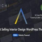 قالب فارسی آرکی Archi پوسته طراحی داخلی وردپرس