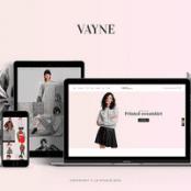 قالب Vayne-قالب فروشگاهی چندمنظوره وردپرسی