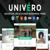 قالب فارسی یونیورو Univero – قالب آموزشگاه