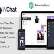 اسکریپت Wchat چت و گفتگوی آنلاین PHP