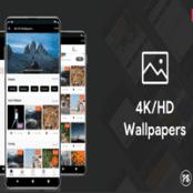 اپلیکیشن والپیپر اندروید ۴K/HD Wallpaper Android App