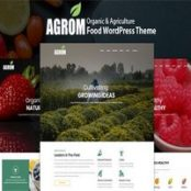 قالب Agrom پوسته ارگانیک و محصولات کشاورزی وردپرس