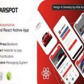 اپلیکیشن CarSpot – Dealership Classified React Native App