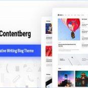 قالب کانتنتبرگ Contentberg پوسته وبلاگی وردپرس