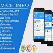 اپلیکیشن Device Info for android with Admob