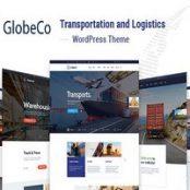 قالب گلوبکو GlobeCo پوسته حمل و نقل، تدارکات و لوجستیک وردپرس
