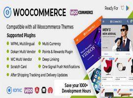 اپلیکیشن Ionic Woocommerce