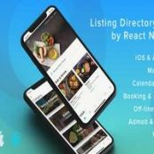 اپلیکیشن ListApp – Listing Directory mobile app by React Native
