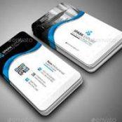 کارت ویزیت مدرن شرکتی Modern Business Card
