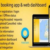 اپلیکیشن Taxi booking app & web dashboard, complete solution