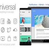 ساخت اپلیکیشن اندروید Universal – Full Multi-Purpose Android App