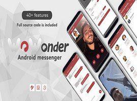اپلیکیشن WoWonder Android Messenger