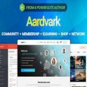 قالب آردوارک Aardvark پوسته شبکه اجتماعی پیشرفته وردپرس