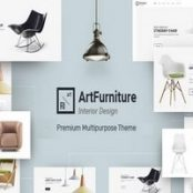قالب آرت فرنیچر Artfurniture پوسته لوازم خانگی و دکوراسیون وردپرس