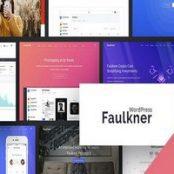 قالب فالکنر Faulkner پوسته شرکتی وردپرس