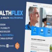 قالب هلت فلکس دکتر HEALTHFLEX Doctor پوسته پزشکی وردپرس