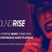 قالب SoundRise پوسته موزیک وردپرس