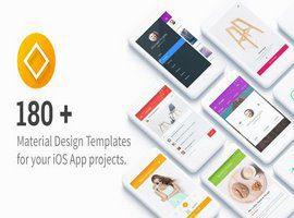 مجموعه UI Templates for IOS تمپلیت رابط کاربری اپلیکیشن iOS