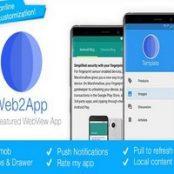 Web2App برای اندروید
